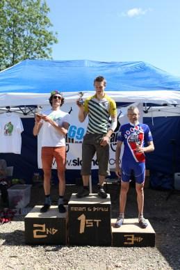 Male overal 50k podium