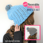 Free Crochet Pattern: Double-Thick Beanie