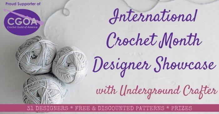 CGOA Designer Showcase International Crochet Month
