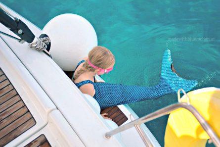 Meerjungfrau - Start ins Wasser