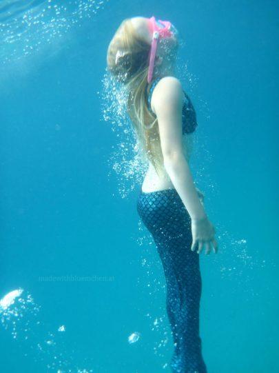 Meerjungfrau - taucht nach oben 2