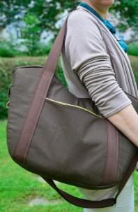 Die Tasche hat für mich genau die richtige Größe.