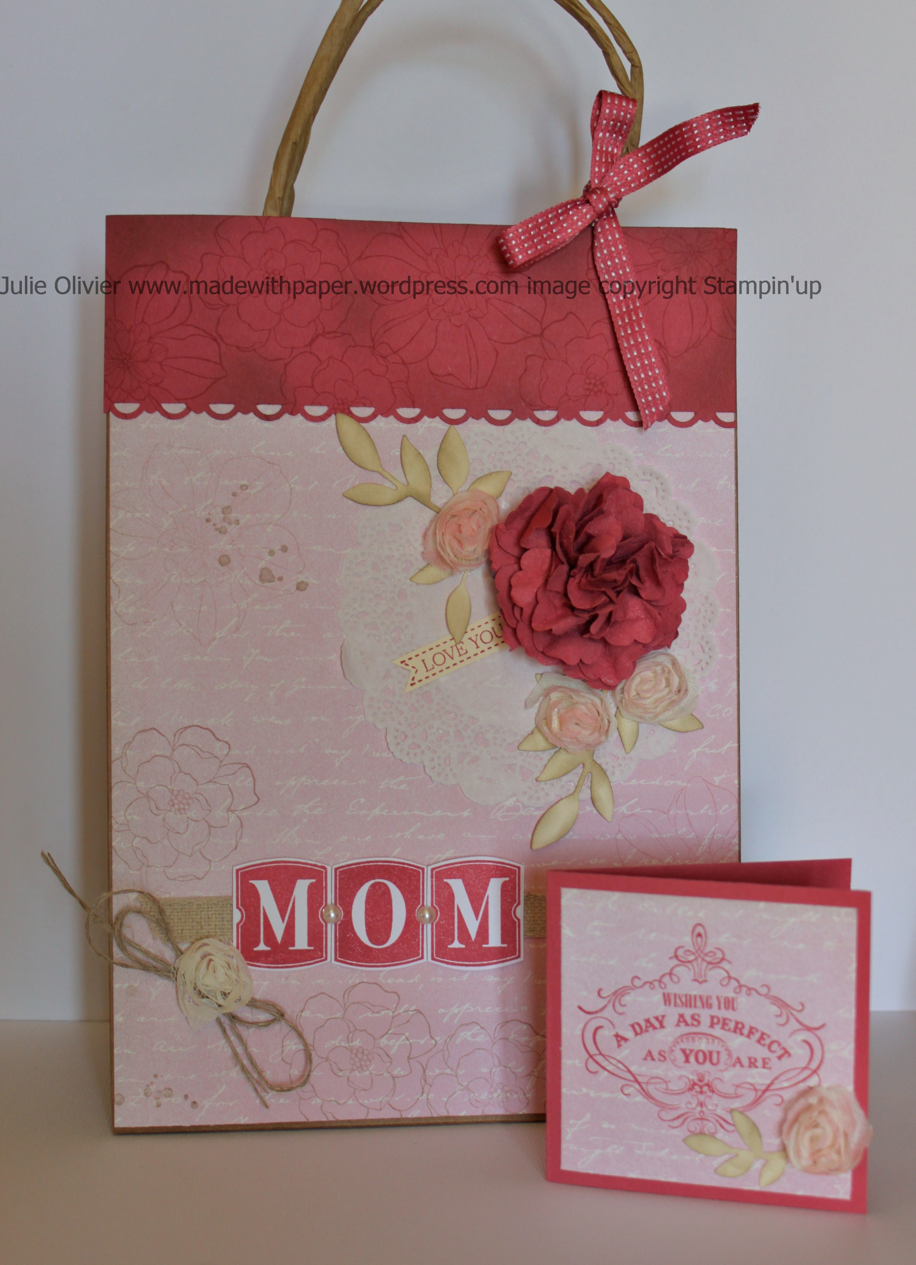 Stampinup Display Board Made With Paper