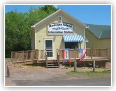 Madeline Island Information Station