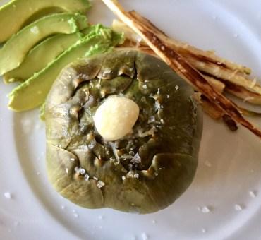 Super lækker forret med asparges og artiskokker