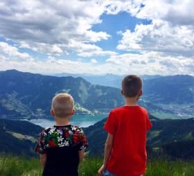 Postkort fra Zell am See i Østrig