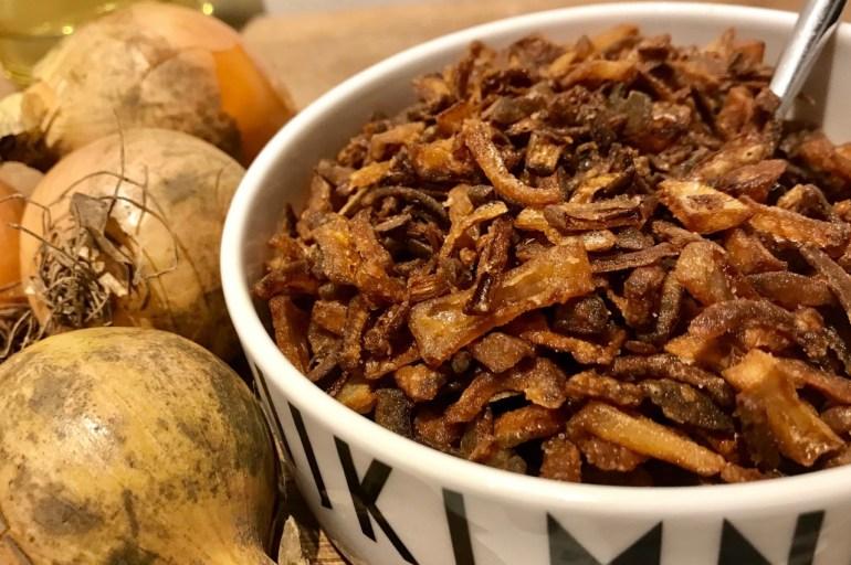 Hjemmelavede ristede løg – nemt og lækkert