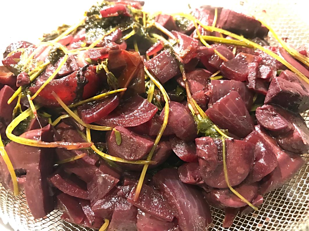 Saltindbagt oksemørbrad med rødvinssauce