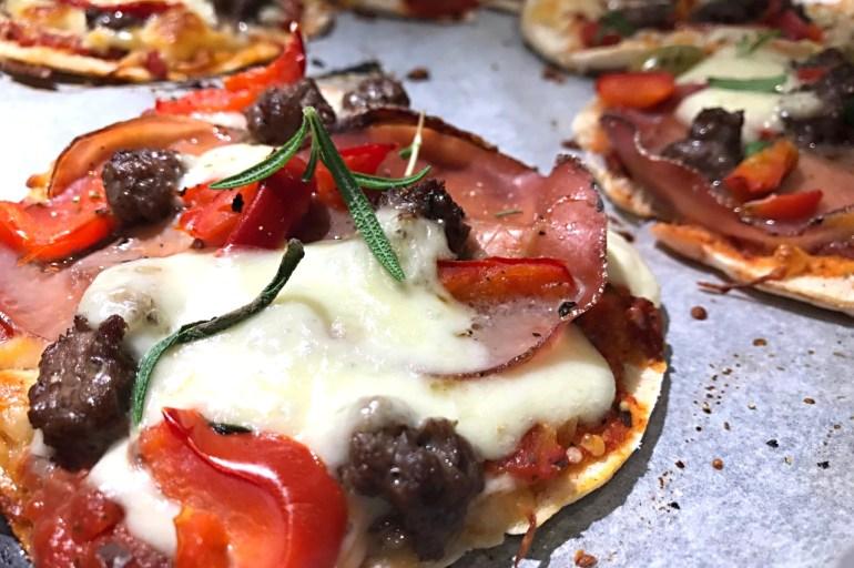 Tip til nemme og lækre mini pita-pizza