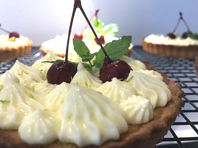 Italienske mini citrontærter med mascarponecreme