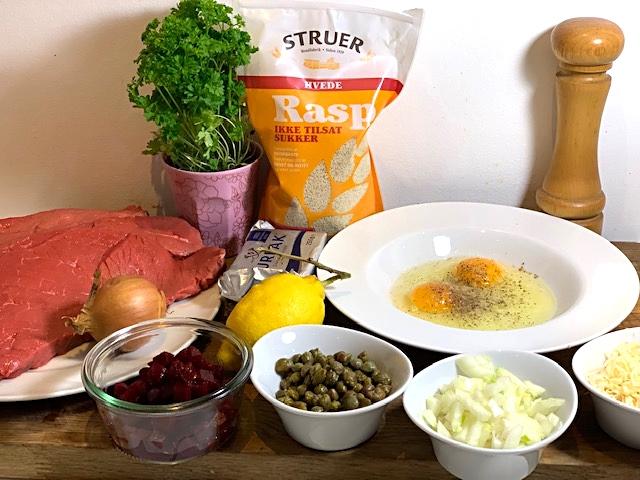 Wienerschnitzler med brasede kartofler