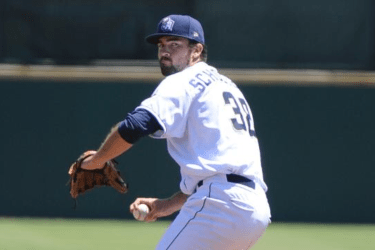 San Diego Padres pitching prospect Jesse Scholtens delivers for San Antonio Missions