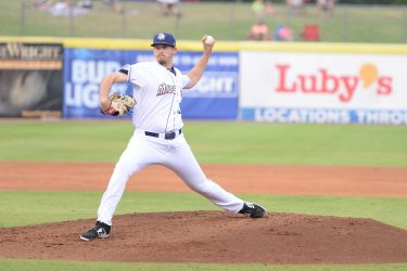 San Diego Padres pitching prospect Jerry Keel delivers for San Antonio Missions