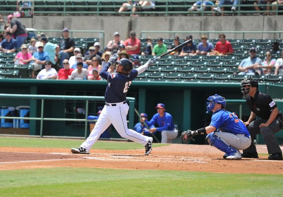 Padres prospect Josh Naylor bats for San Antonio Missions
