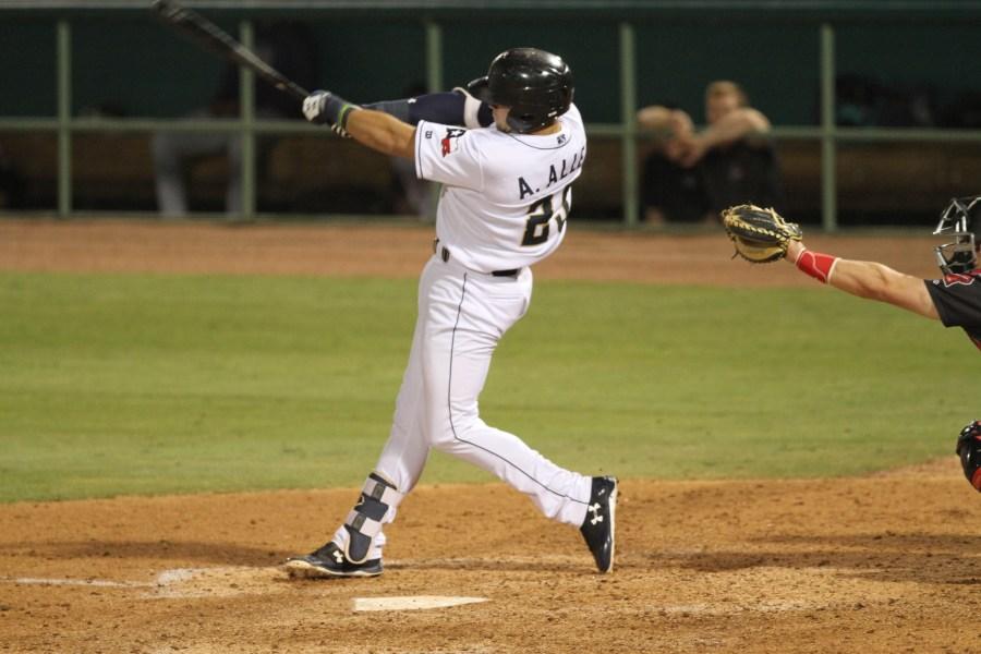 Padres prospect Austin Allen for San Antonio Missions