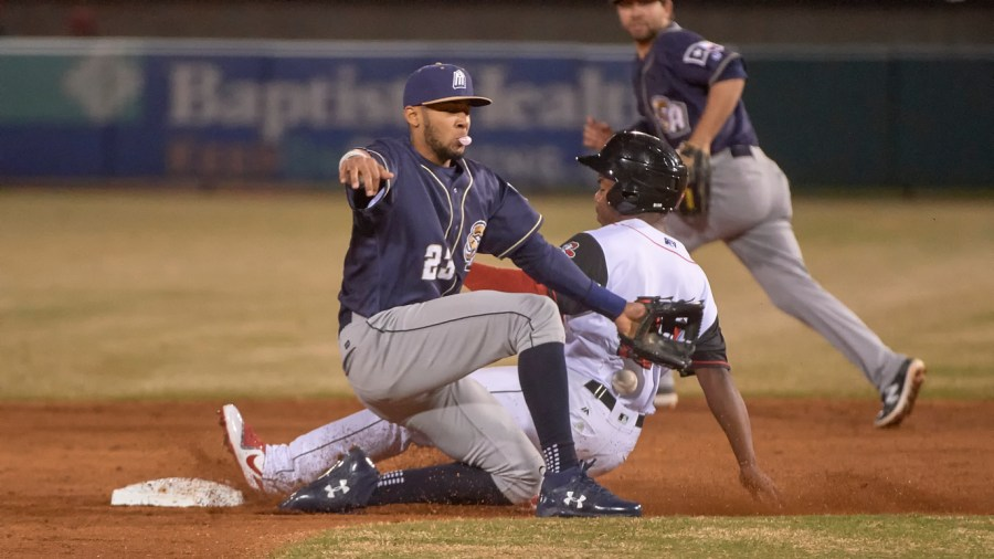 San Diego Padres Prospect Fernando Tatis, Jr. with the San Antonio Missions.