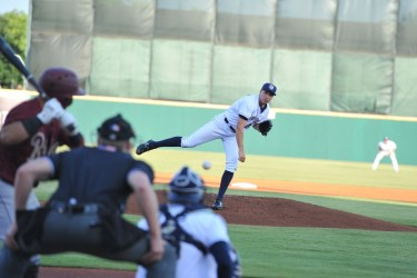 Padres prospect Lake Bachar pitches for San Antonio Missions