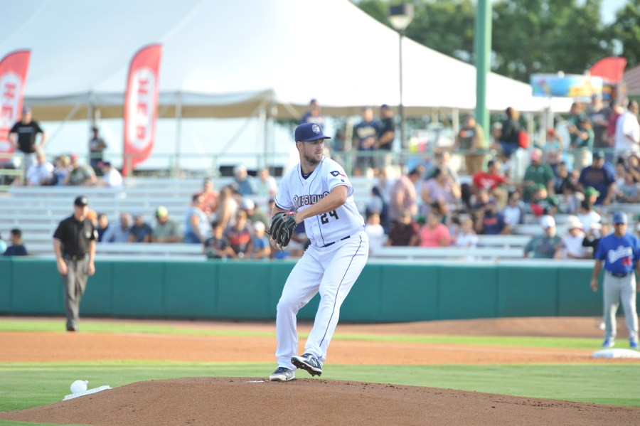 Padres pitcher Colin Rea works back from Tommy John Surgery with the San Antonio Missions