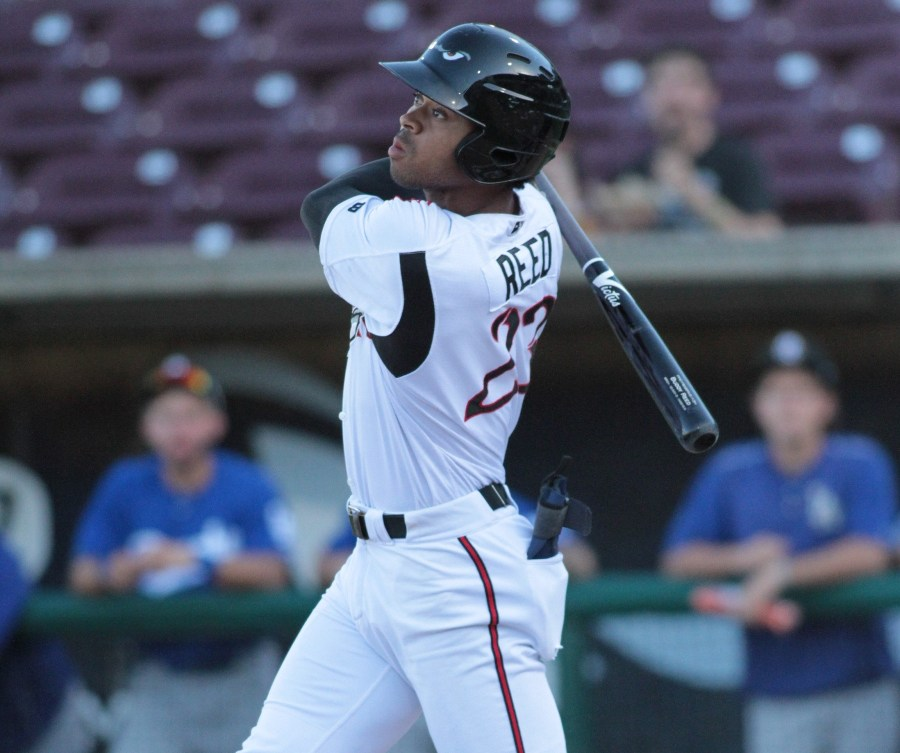 Padres prospect Buddy Reed hits for Lake Elsinore Storm