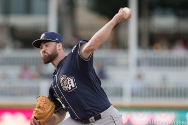 Padres top prospect Logan Allen pitches for San Antonio Missions