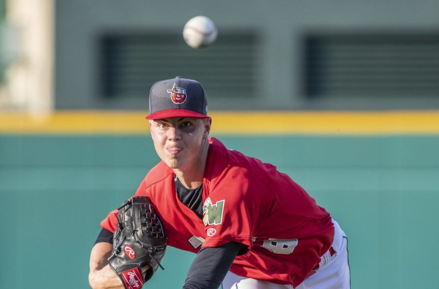 Padres top prospect MacKenzie Gore pitches for Fort Wayne TinCaps