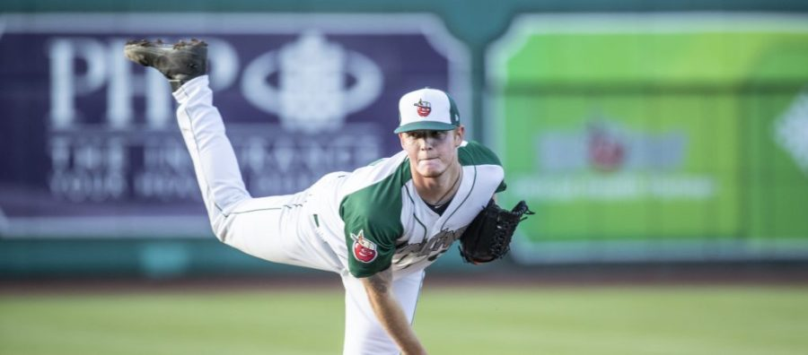 Padres pitching prospect Mason Thompson pitches for Fort Wayne TinCaps