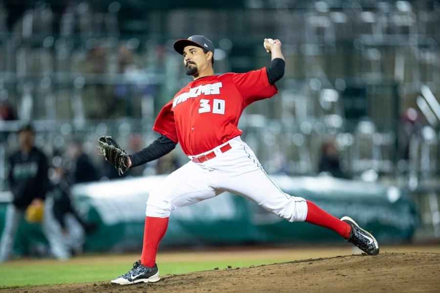 Padres prospect Travis Radke pitches for Fort Wayne TinCaps