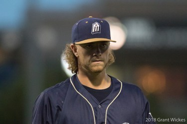 Padres prospect Chris Paddack in the zone for San Antonio Missions