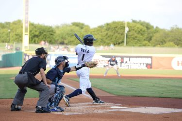 Buddy Reed, Padres prospect batting for San Antonio Missions