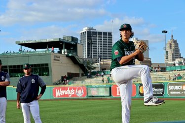 Joey Cantillo, Padres pitching prospect with Fort Wayne TinCaps