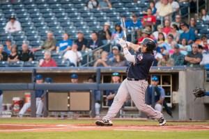 Josh Naylor, Padres prospect batting for San Antonio Missions.