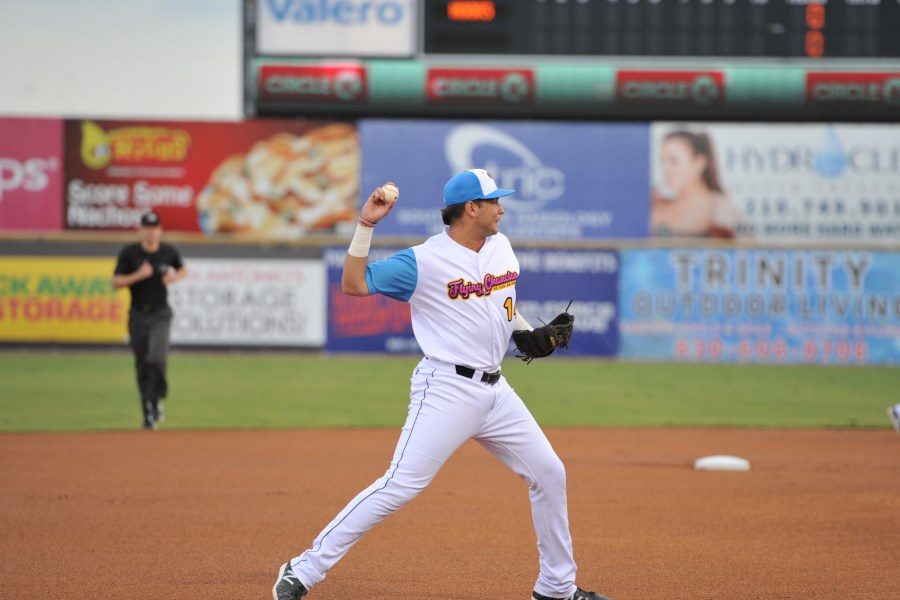 Hudson Potts, Padres prospect fields for San Antonio Missions