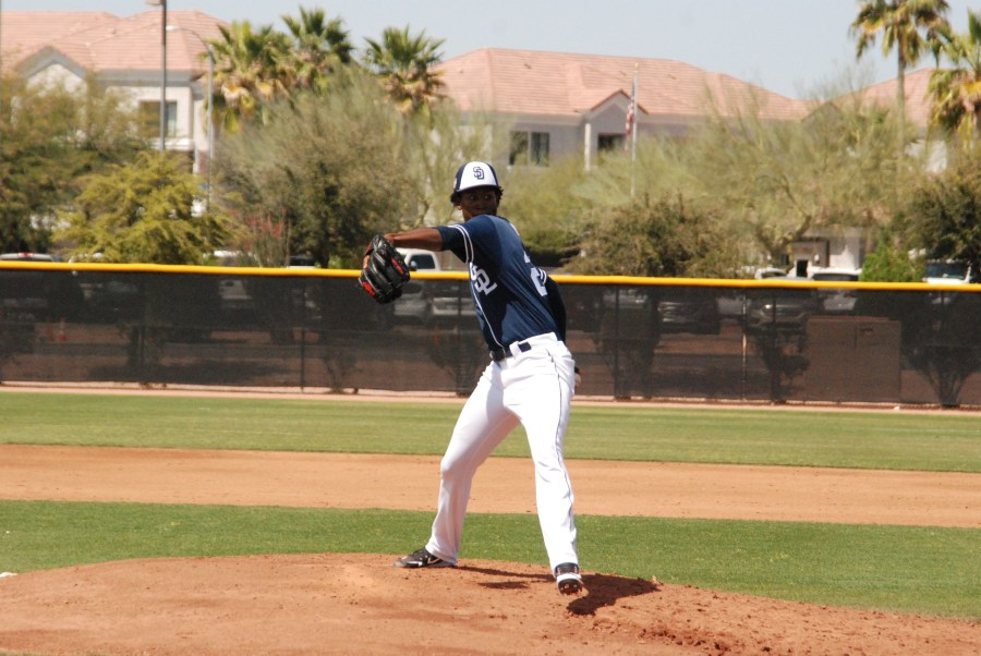 Padres pitching prospect Henry Henry
