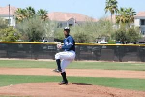 Padres pitching prospect Ignacio Feliz