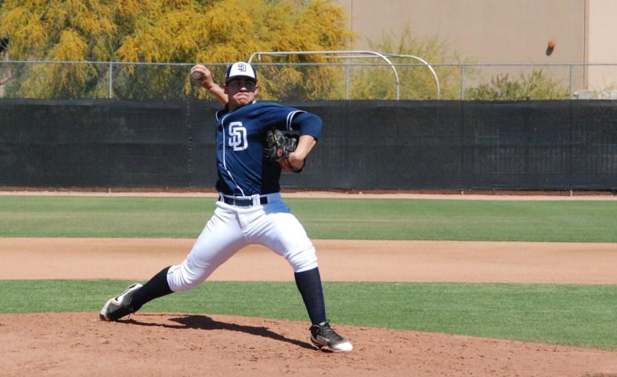 San Diego Padres RHP prospect Jeferson Garcia