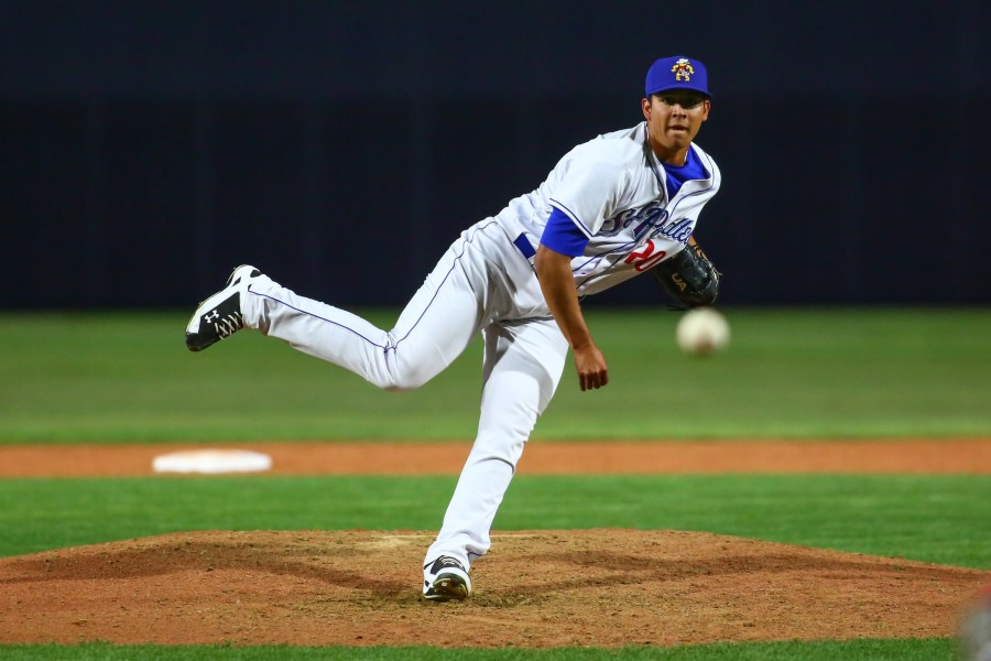 Padres relief prospect Andres Munoz