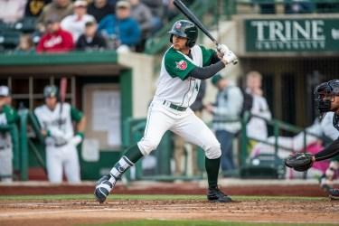 Padres prospect Justin Lopez bats for Fort Wayne TinCaps