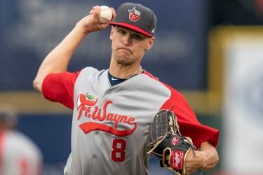 Padres prospect Gabe Mosser pitching for Fort Wayne TinCaps