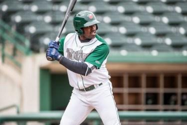 Padres prospect Dwanya Williams-Sutton bats for Fort Wayne TinCaps