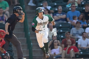 Ethan Skender Padres prospect batting for Fort Wayne TinCaps