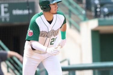 Agustin Ruiz, Padres prospect bats for Fort Wayne TinCaps