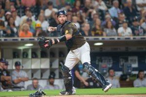Austin Allen catcher, San Diego Padres