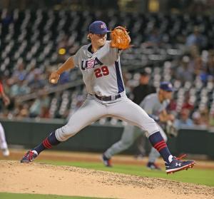 San Diego Padres draftee Cole Wilcox