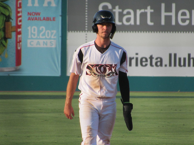 Padres prospect Jarryd Dale runs the bases for the Lake Elsinore Storm