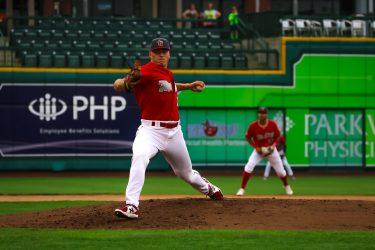 Padres prospect Erik Sabrowski pitches for the Fort Wayne TinCaps
