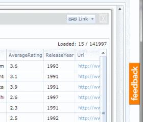 Sesame Data Browser Feedback Button