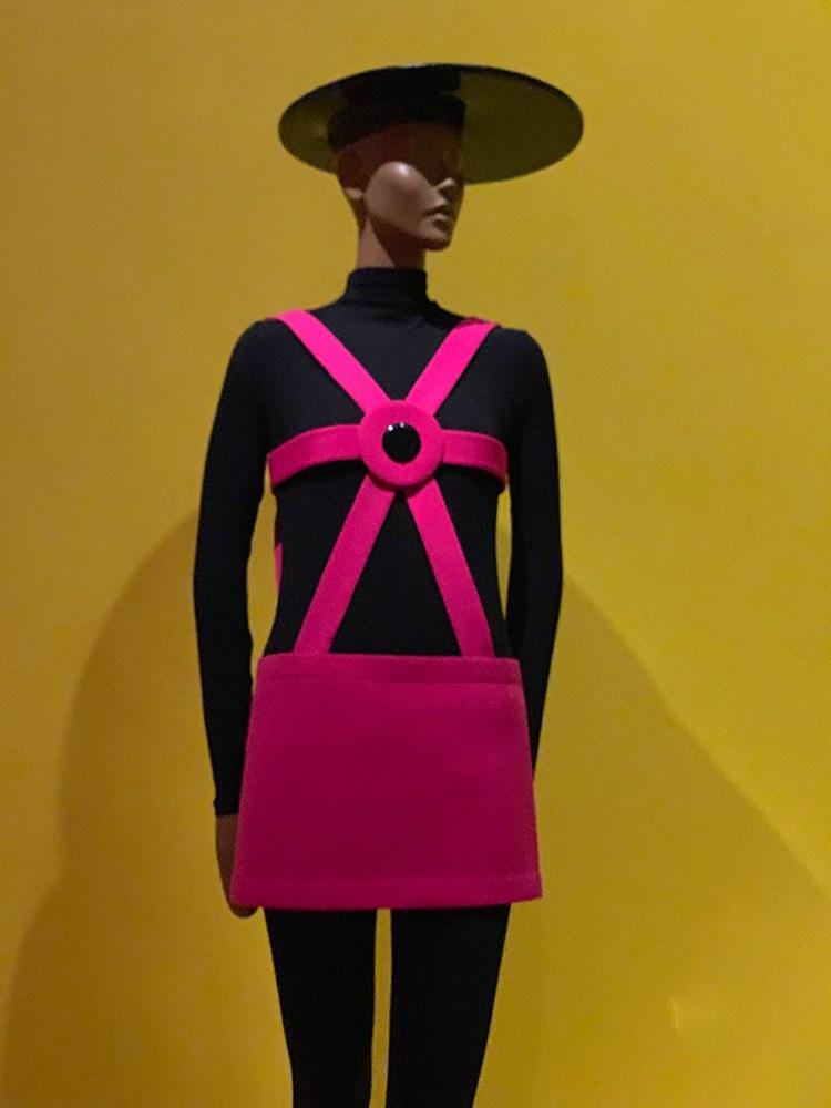 Cardin Pink Miniskirt