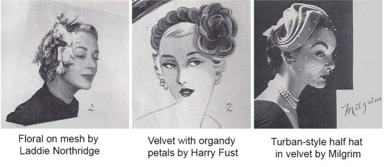 Vintage Half Hats, Sophisticated Style for Every Women