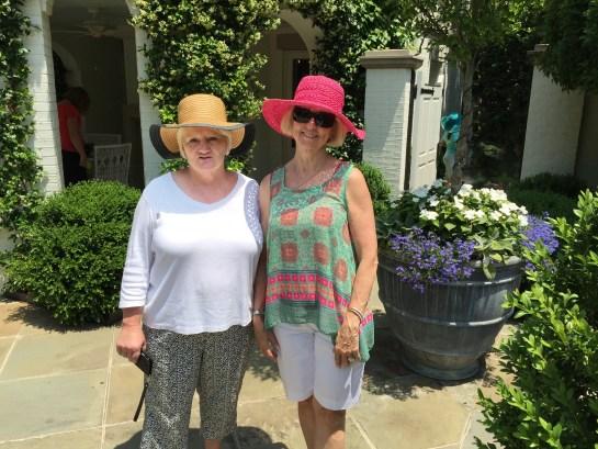 Hats in the garden