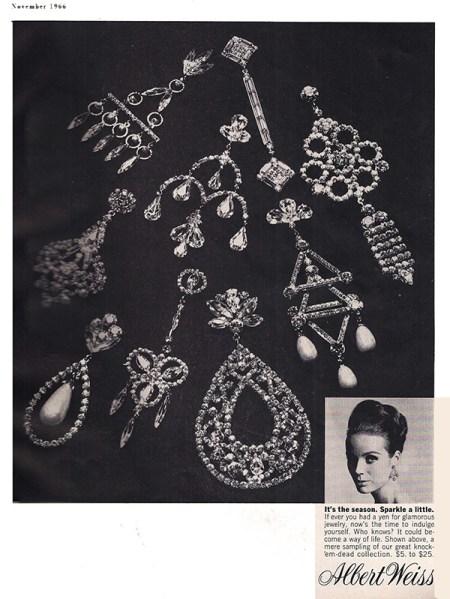 Weiss Rhinestone Jewelry